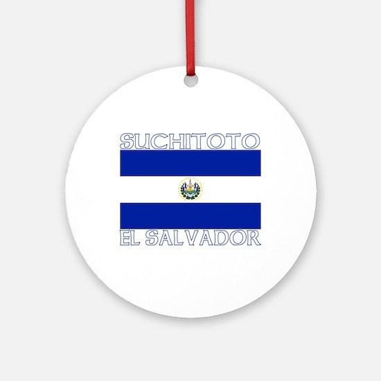 Suchitoto, El Salvador Ornament (Round)