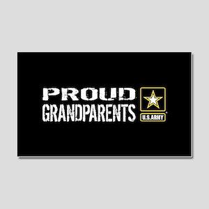 U.S. Army: Proud Grandparents ( Car Magnet 20 x 12
