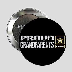 """U.S. Army: Proud Grandparen 2.25"""" Button (10 pack)"""