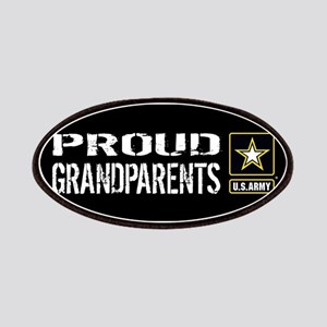 U.S. Army: Proud Grandparents (Black) Patch