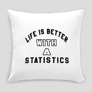 Statistics Designs Everyday Pillow