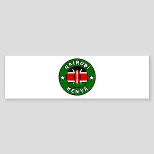 Nairobi Kenya Bumper Sticker