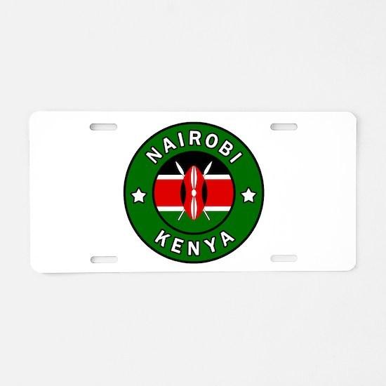 Nairobi Kenya Aluminum License Plate