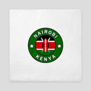 Nairobi Kenya Queen Duvet
