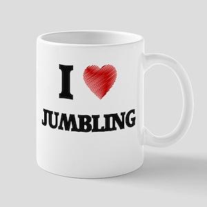 I Love Jumbling Mugs
