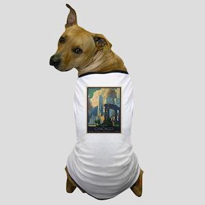 Vintage poster - Chicago Dog T-Shirt