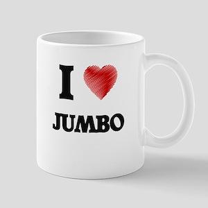 I Love Jumbo Mugs
