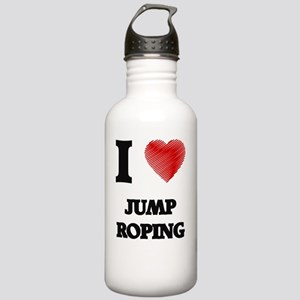 I Love Jump Roping Stainless Water Bottle 1.0L