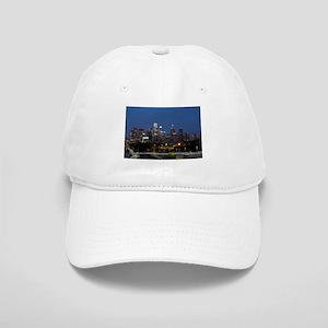 Philly skyline from Schuylkill Banks boardwalk Cap