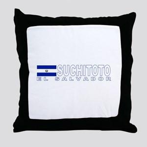 Suchitoto, El Salvador Throw Pillow