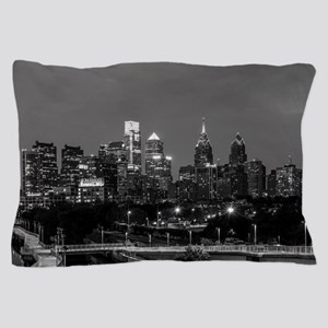 Philly skyline from Schuylkill Banks b Pillow Case