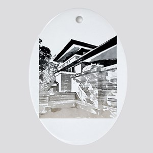 Robie House Oval Ornament
