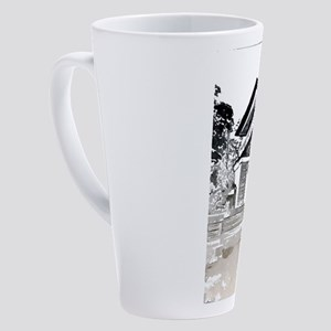 Robie House 17 oz Latte Mug
