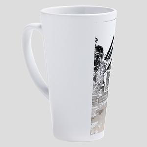 Robie House 17 oz Latte Mug