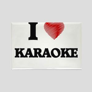 I Love Karaoke Magnets