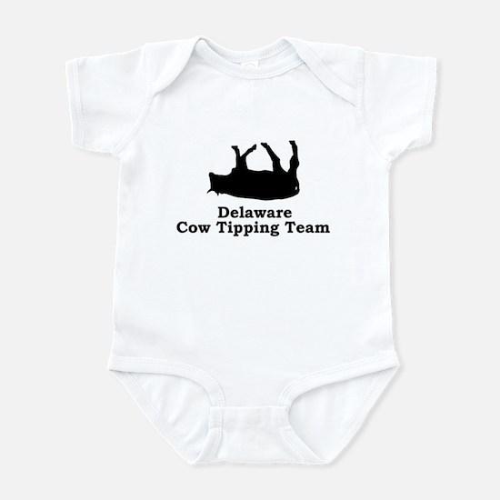 Delaware Cow Tipping Infant Bodysuit