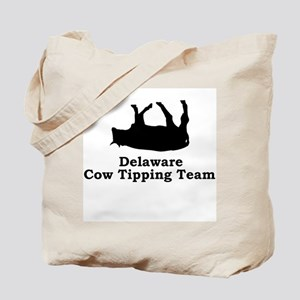 Delaware Cow Tipping Tote Bag