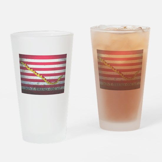 Naval Jack-Don't Tread On Me Drinking Glass