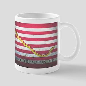 Naval Jack-Don't Tread On Me Mugs