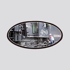 Steam train engine, Colorado 11 Patch