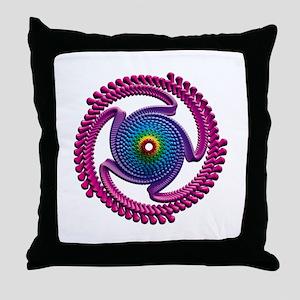 Spiral Candy2 Throw Pillow