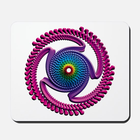 Spiral Candy2 Mousepad