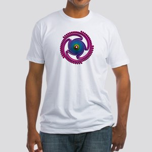 Spiral Candy2 Fitted T-Shirt