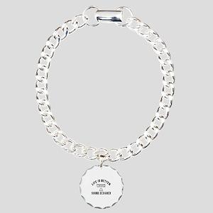 Sound Designer Designs Charm Bracelet, One Charm