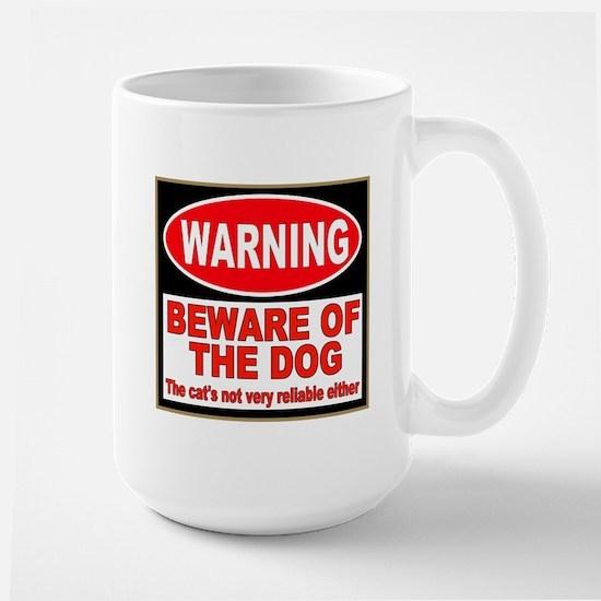 Beware of the Dog Large Mug