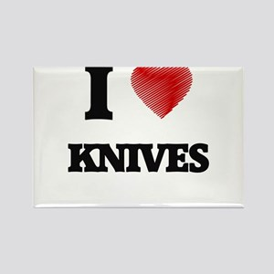 I Love Knives Magnets