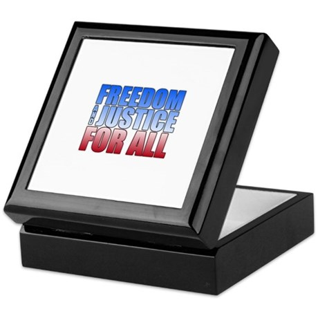 Freedom and Justice Keepsake Box