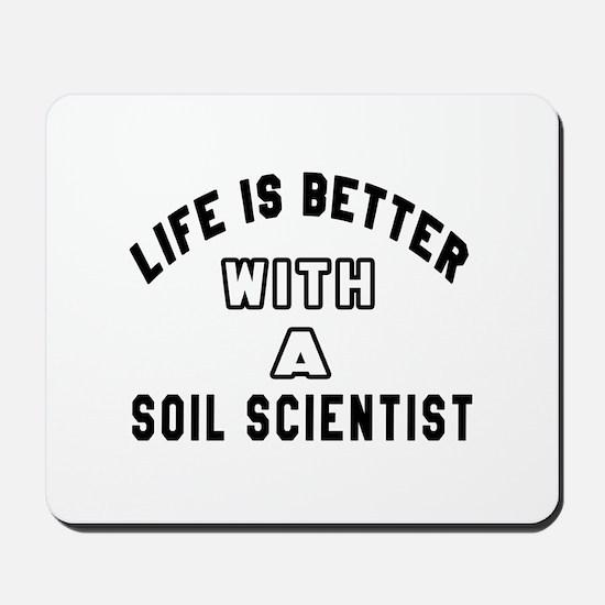 Soil Scientist Designs Mousepad