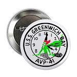 "USS Greenwich Bay (AVP 41) 2.25"" Button (100 pack)"