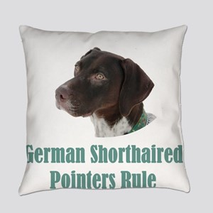 German Shorthaired Pointers Rule Everyday Pillow