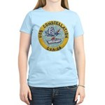 USS CONSTELLATION Women's Light T-Shirt