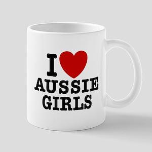 I Love Aussie Girls Mug