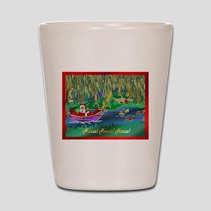 Cajun Santa 3 Shot Glass