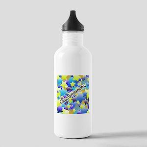Congratulation Stars Water Bottle