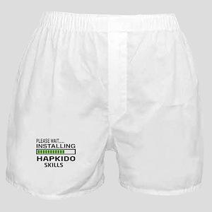 Please wait, Installing Hapkido skill Boxer Shorts