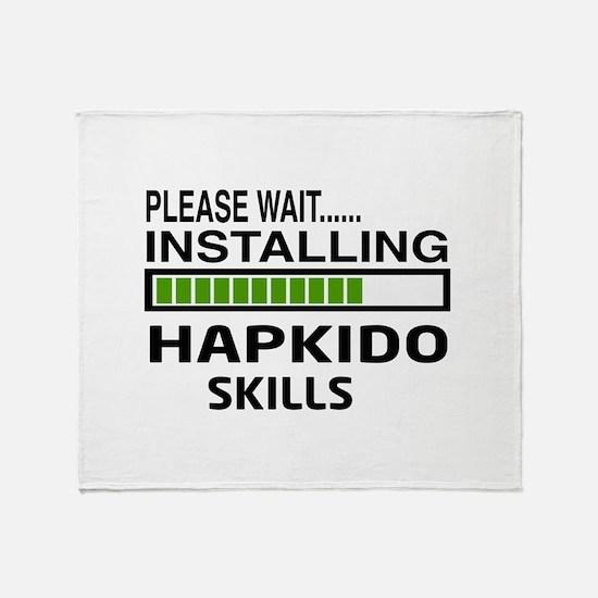 Please wait, Installing Hapkido skil Throw Blanket