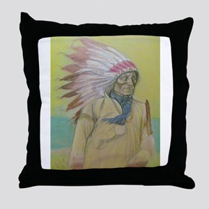 Thought's in the Wind Throw Pillow