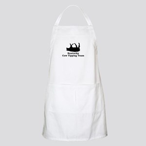 Kentucky Cow Tipping BBQ Apron