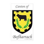 Bofharrach Rectangle Sticker