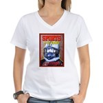 Sports is the Opiate Women's V-Neck T-Shirt
