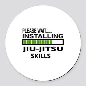 Please wait, Installing Jiu-Jitsu Round Car Magnet