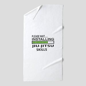 Please wait, Installing Jiu-Jitsu skil Beach Towel