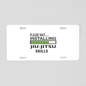 Please wait, Installing Jiu Aluminum License Plate