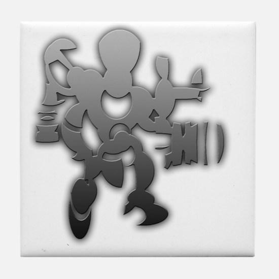 Ink blot Tile Coaster
