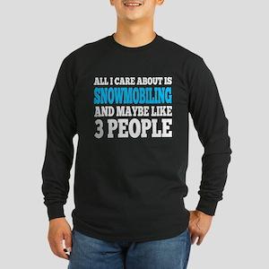Snowmobile Long Sleeve T-Shirt