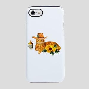 Cowboy Cat iPhone 8/7 Tough Case